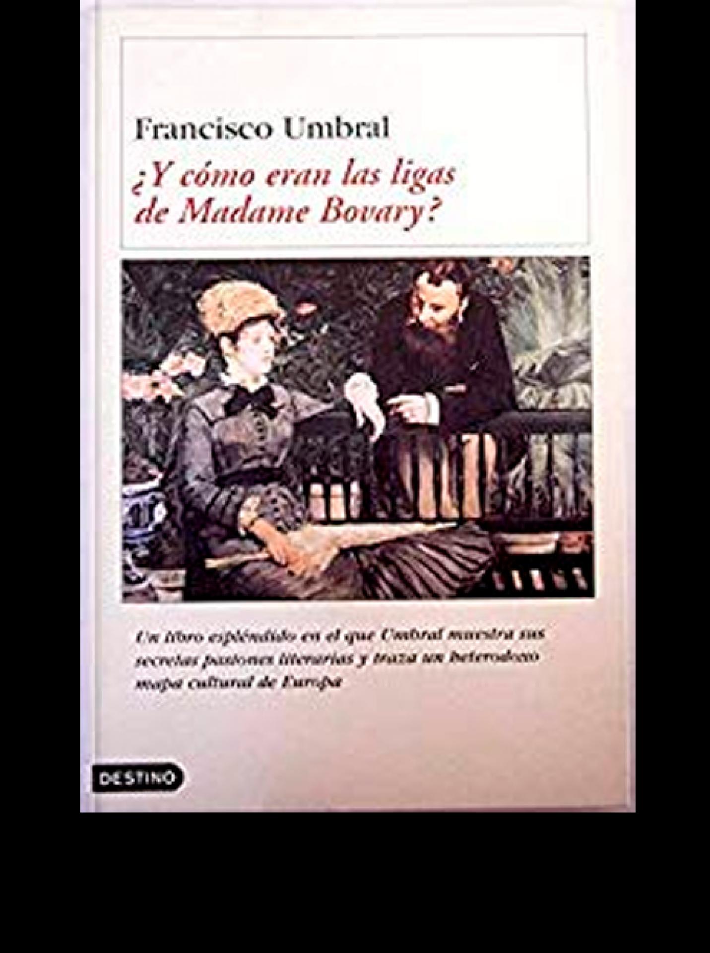 ¿Y cómo eran las ligas de Madame Bovary?