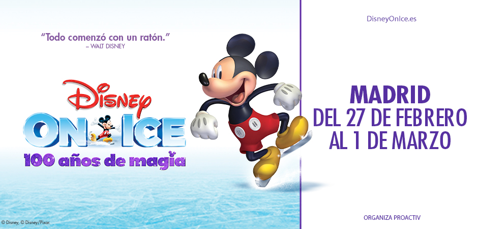 Disney on Ice - 100 Años de Magia