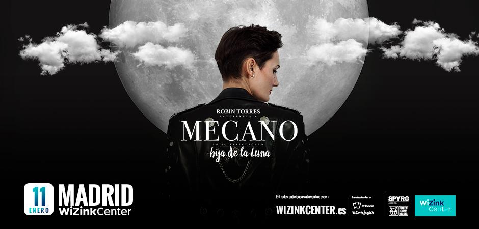 Hija de la luna - Robin Torres interpreta a MECANO