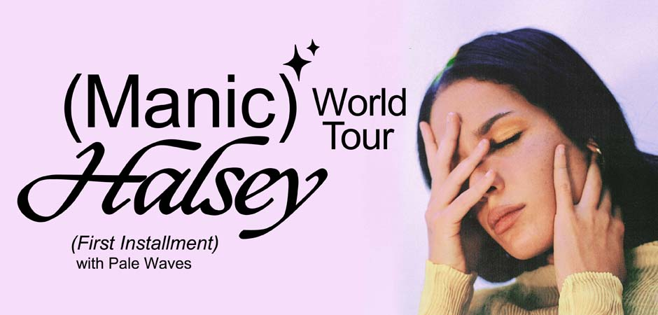 HALSEY - (MANIC) WORLD TOUR