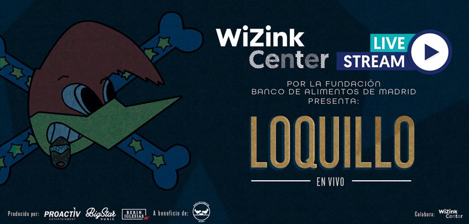 Loquillo-WiZink Center Live Stream Por la Fundación Banco de Alimentos de Madrid, presenta a Loquillo