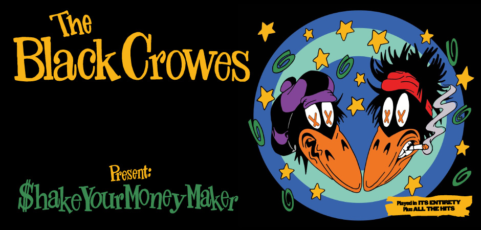 The Black Crowes- Shake your money maker