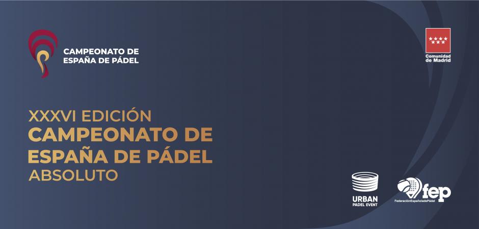 XXXVI Campeonato de España de Pádel 2020