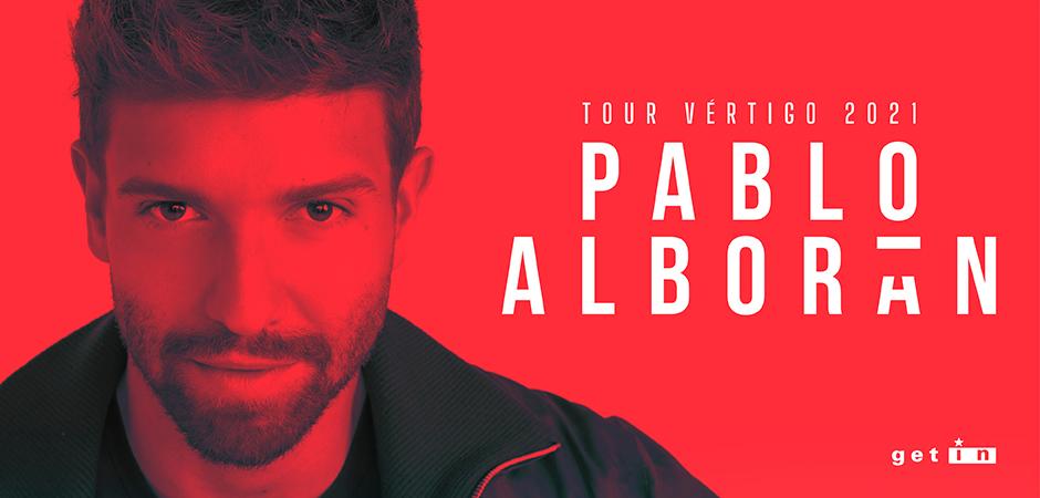 Pablo Alborán- Tour Vértigo 2021