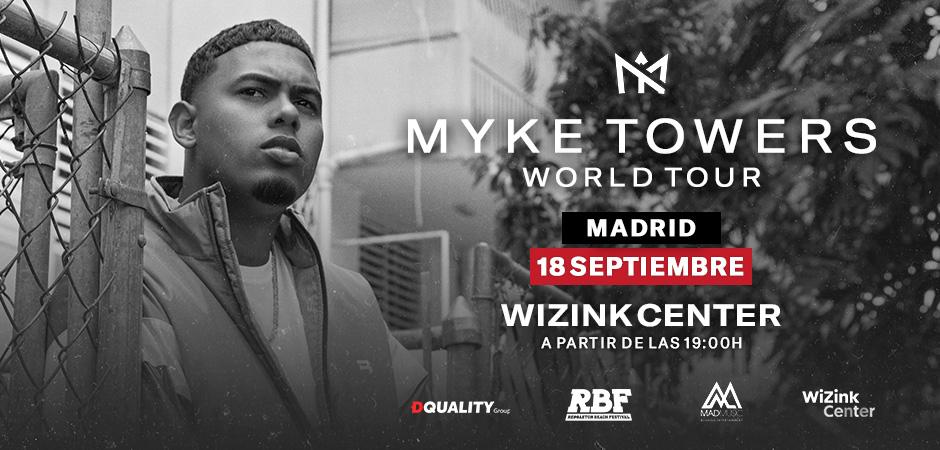 Myke Towers World Tour