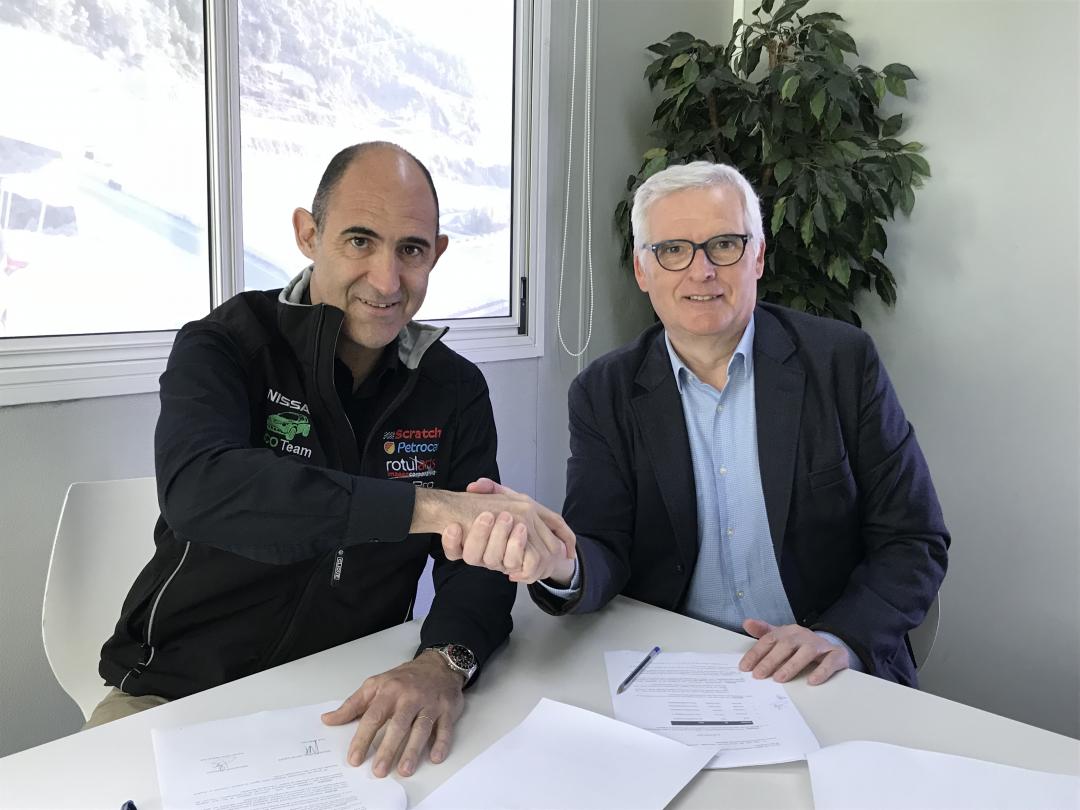El Circuit ParcMotor y Nissan rubrican su nueva colaboración