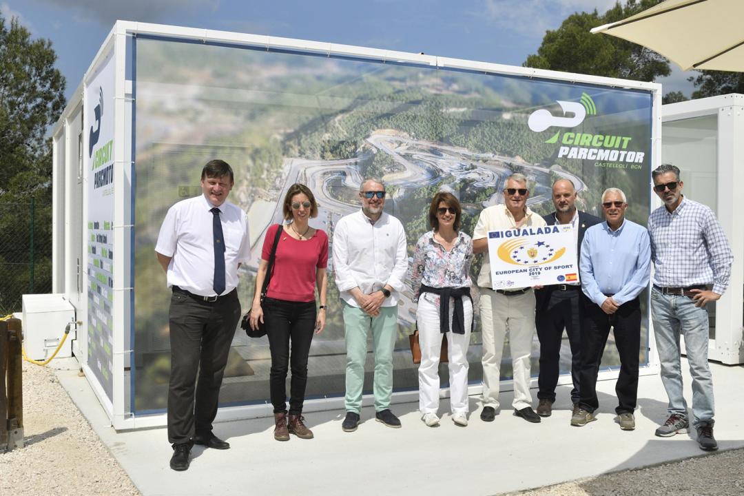 ParcMotor Castellolí, con la candidatura Igualada Ciudad Europea del Deporte 2019