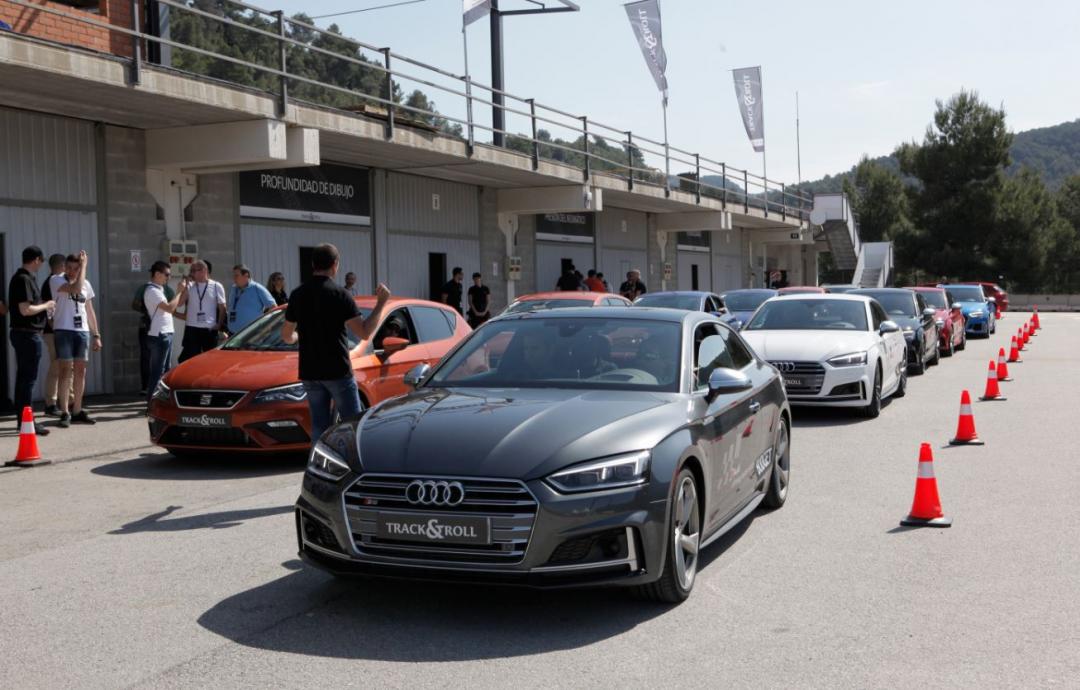 Track&Roll, el evento de neumáticos del Grupo Volkswagen brilla con fuerza en el Circuit Parcmotor Castellolí