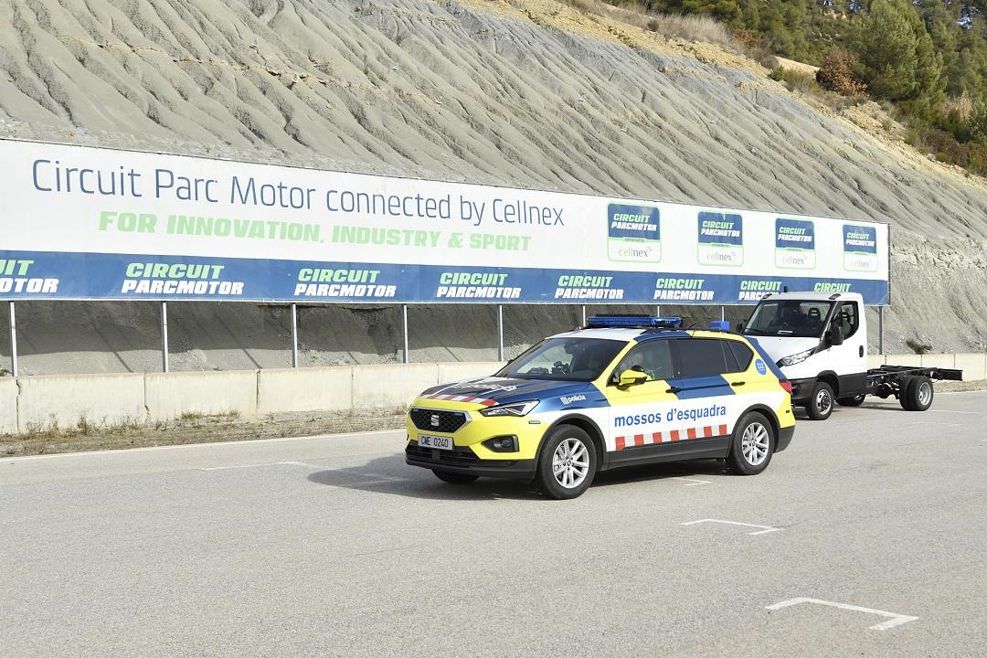 Mossos d'Esquadra y cuerpos de seguridad del Estado asisten a la formación de los nuevos Tacógrafos Inteligentes