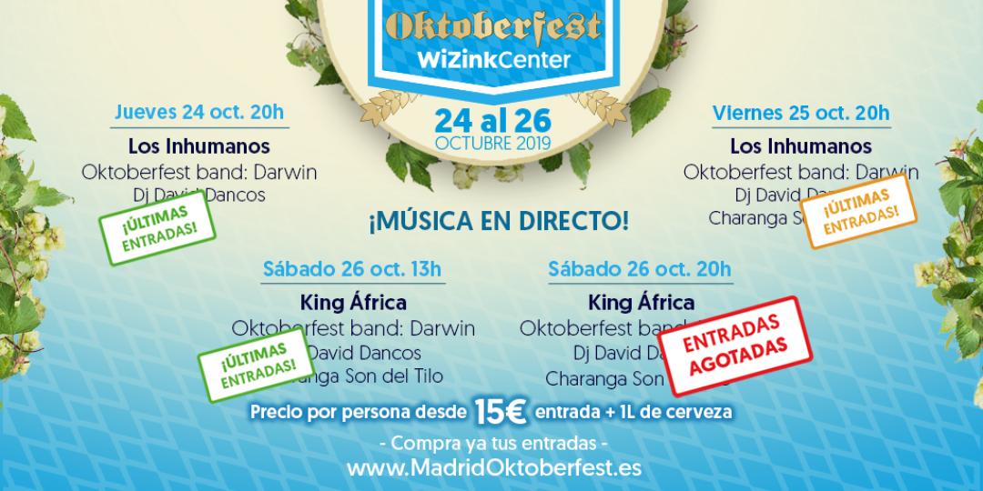 Madrid Oktoberfest: ¡Últimas entradas!