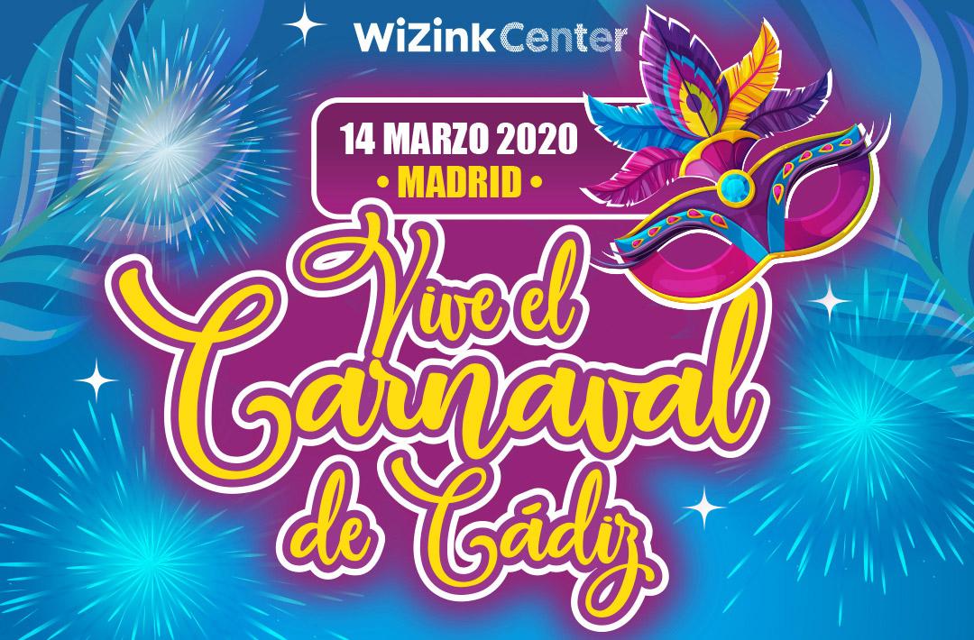 El auténtico Carnaval de Cádiz, ¡en el WiZink Center!