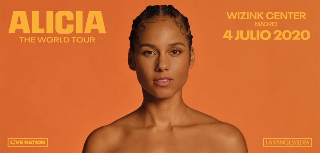 ¡Alicia Keys nos visitará en julio!