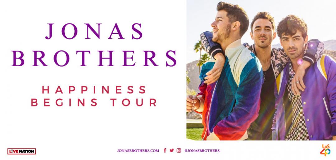 Cuenta atrás para el concierto de Jonas Brothers