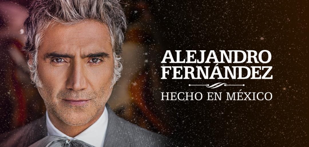 Alejandro Fernández, ¡en concierto el 8 de diciembre!