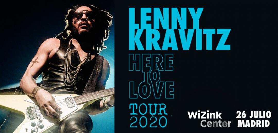 ¡Lenny Kravitz vuelve al WiZink Center!