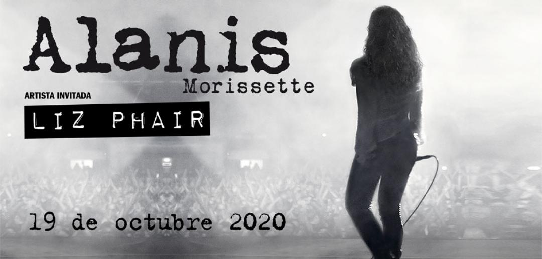 La gira de Alanis Morissette ¡pasará por nuestro recinto en octubre!
