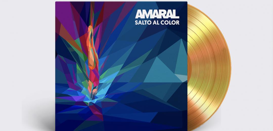 El álbum 'Salto al color', de Amaral, ¡ya es disco de oro!