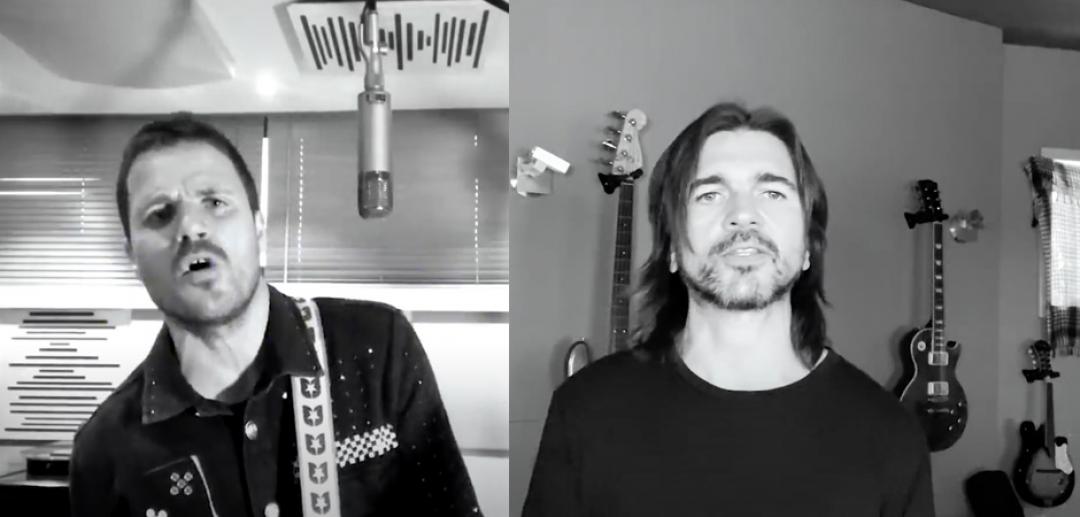 Dani Martín y Juanes estrenan 'Los Huesos'