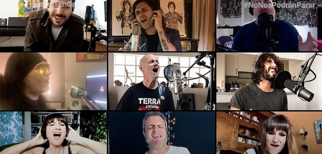 Celtas Cortos y varios artistas reeditan su '20 de abril'