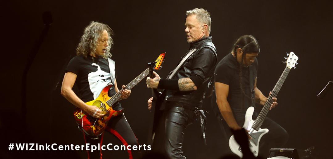 #WiZinkCenterEpicConcerts       Hoy: ¡Metallica!