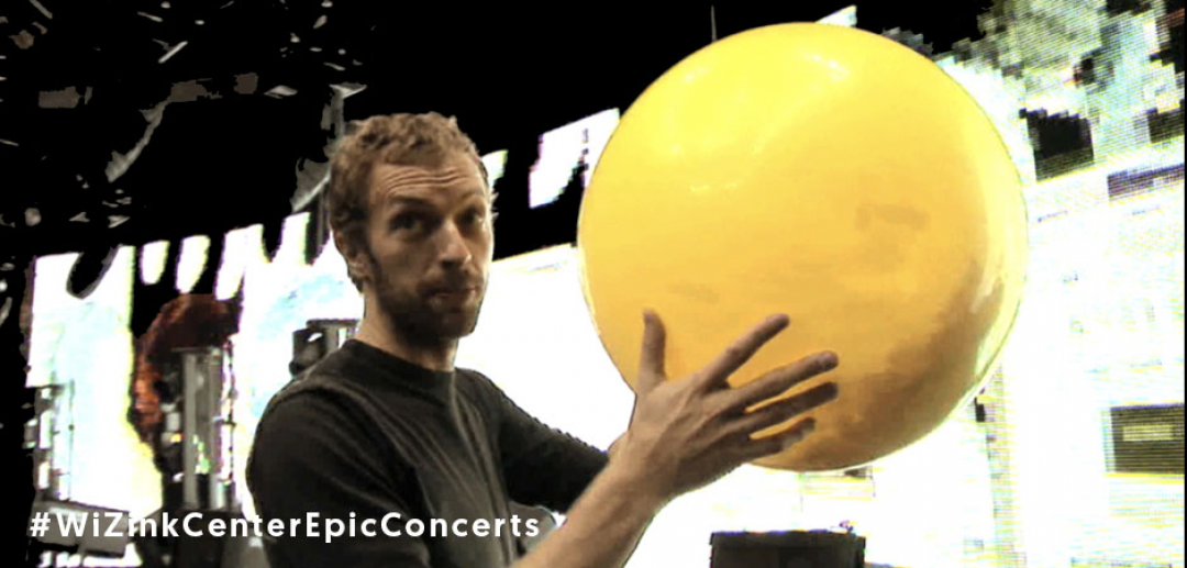 #WiZinkCenterEpicConcerts: ¡Coldplay!