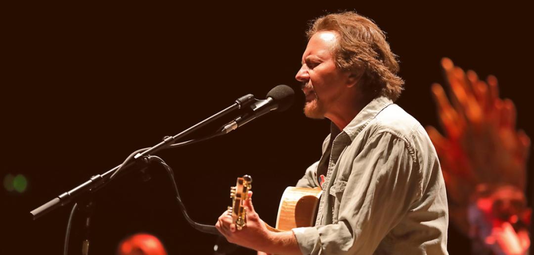 #WiZinkCenterEpicConcerts: ¡Pearl Jam y Eddie Vedder!