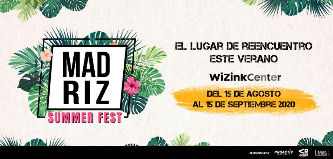 Madriz Summer Fest: el festival del verano en WiZink Center