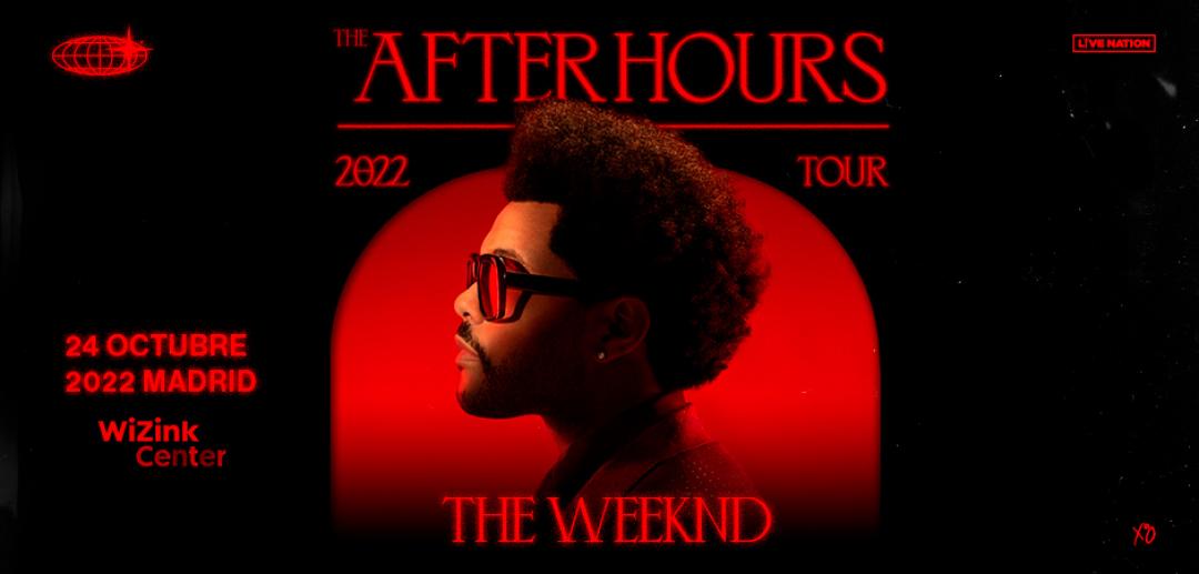 ¡The Weeknd en el WiZink Center de Madrid!