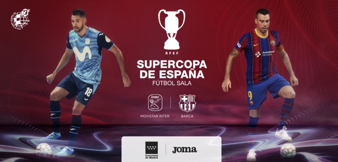 La Supercopa de Futsal será el 15 de abril