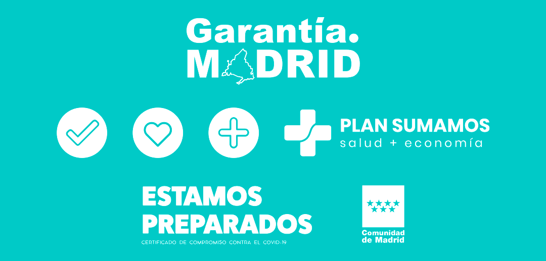 Obtenemos el reconocimiento Garantía Madrid